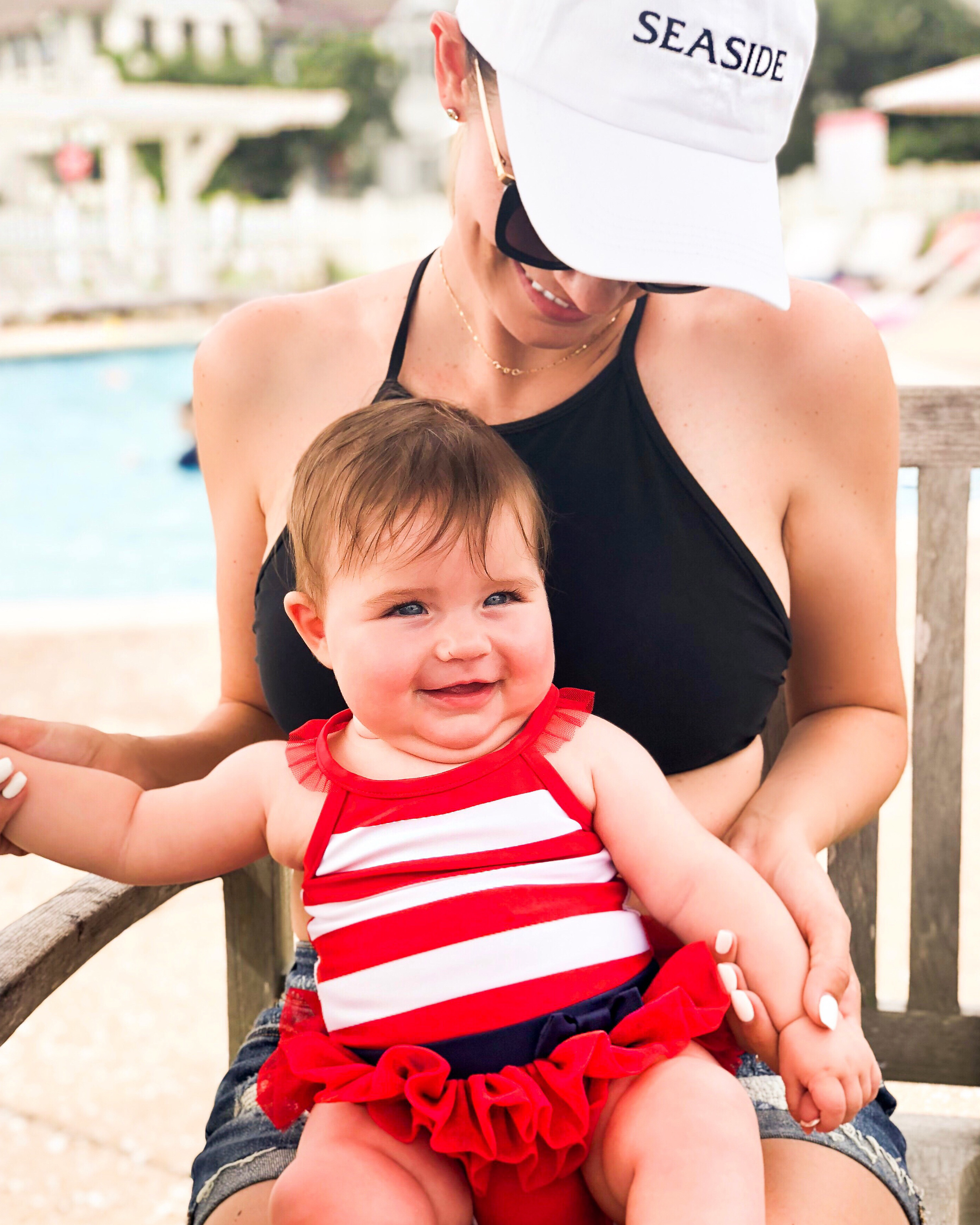 Angela Lanter with daughter, MacKenlee Lanter on vacation
