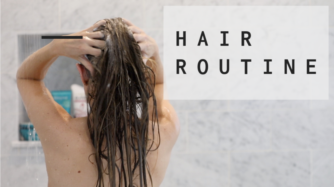 How I Wash and Dry My Hair Routine