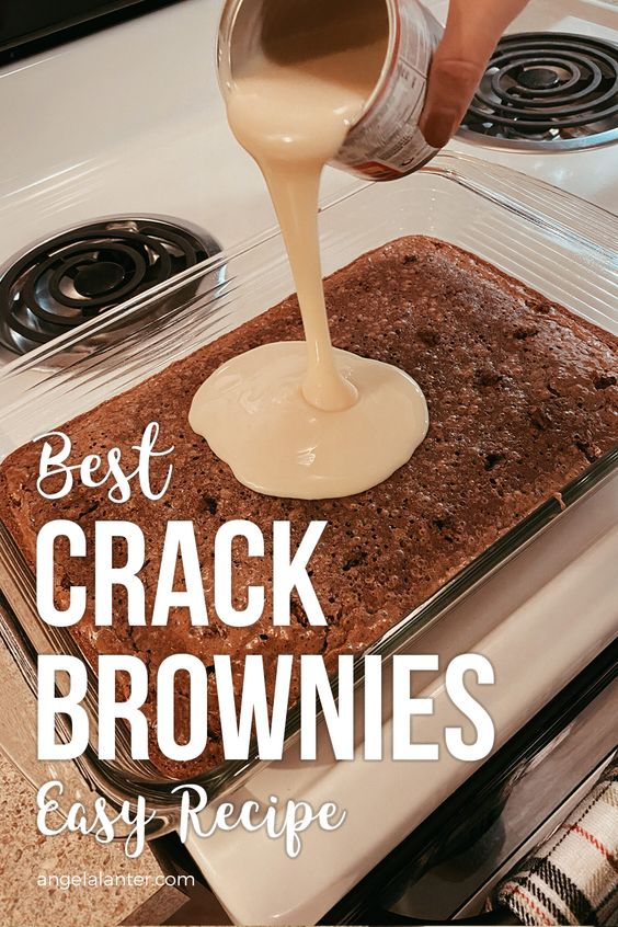 Crack Brownies Recipe