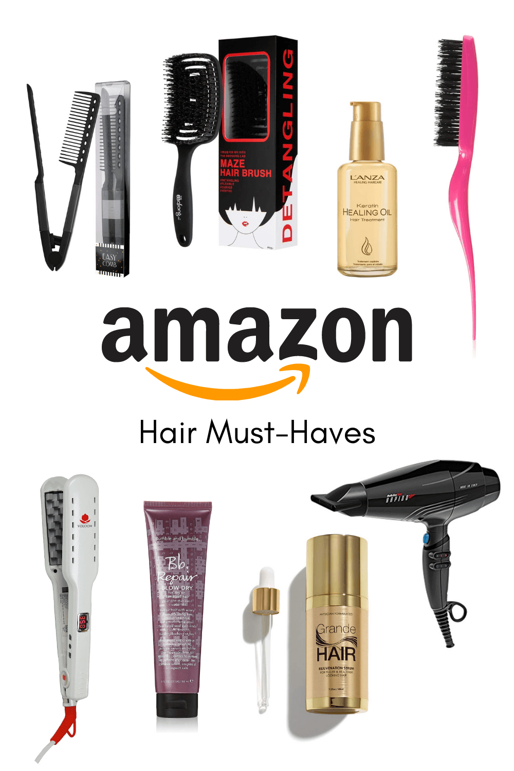 amazon hair must haves