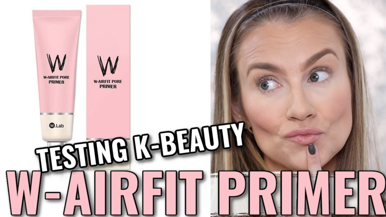Testing W-Airfit Pore Primer from Facebook