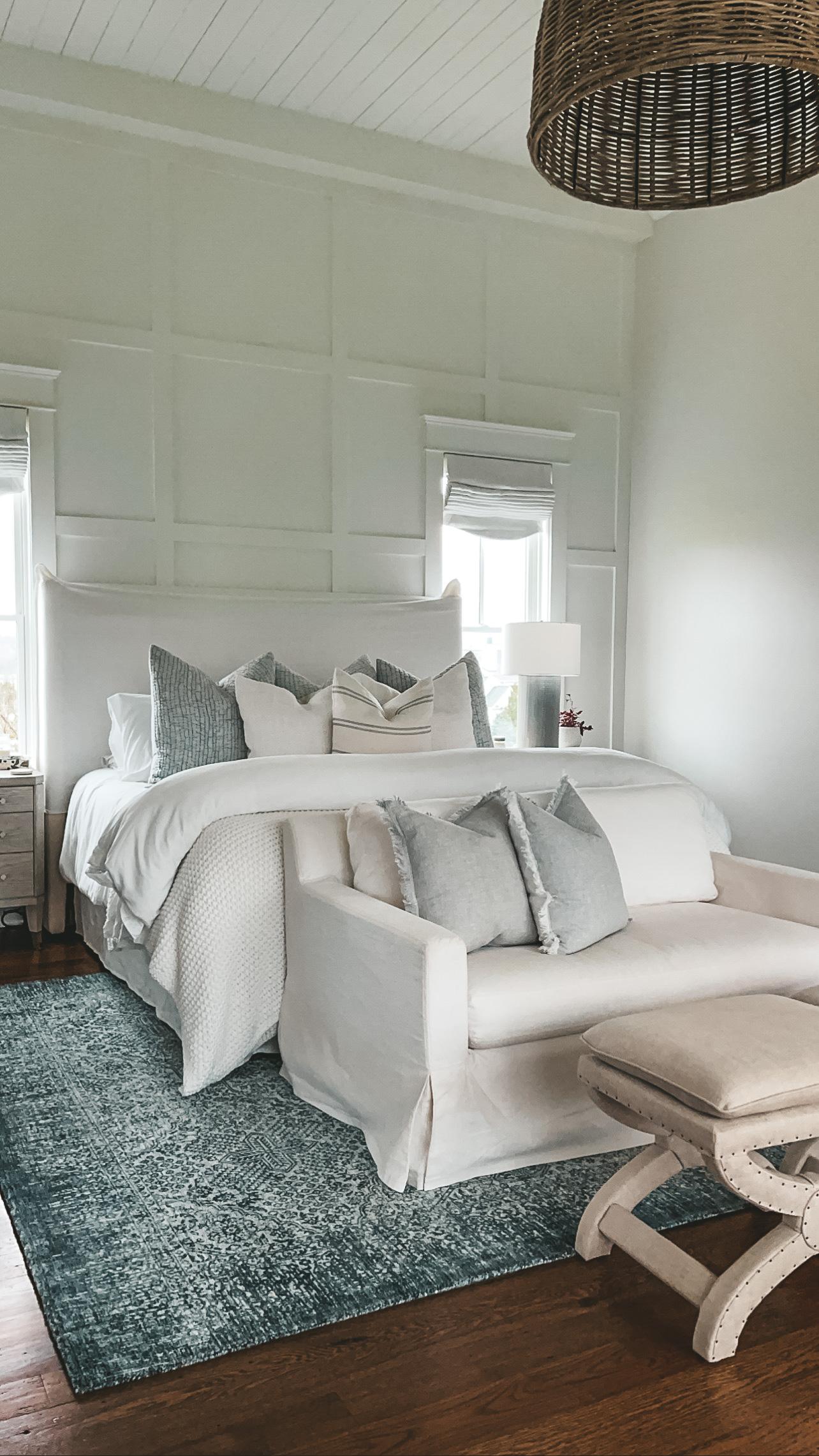 Boutique Rugs FREELING AREA RUG nashville master bedroom angela lanter