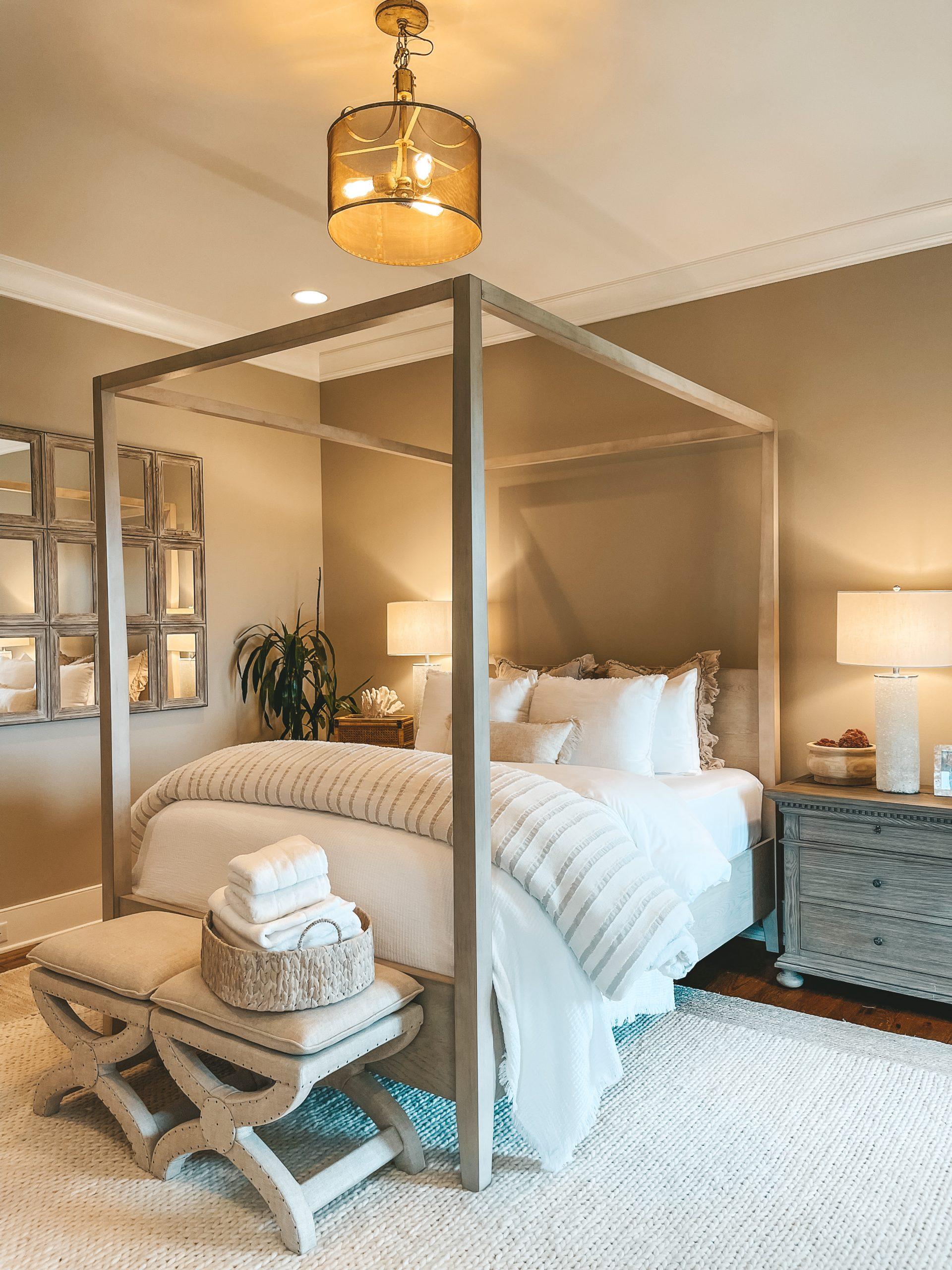 Rugs USA Off White Braided Area Rug Guest bedroom neutral coastal decor nashville home angela lanter