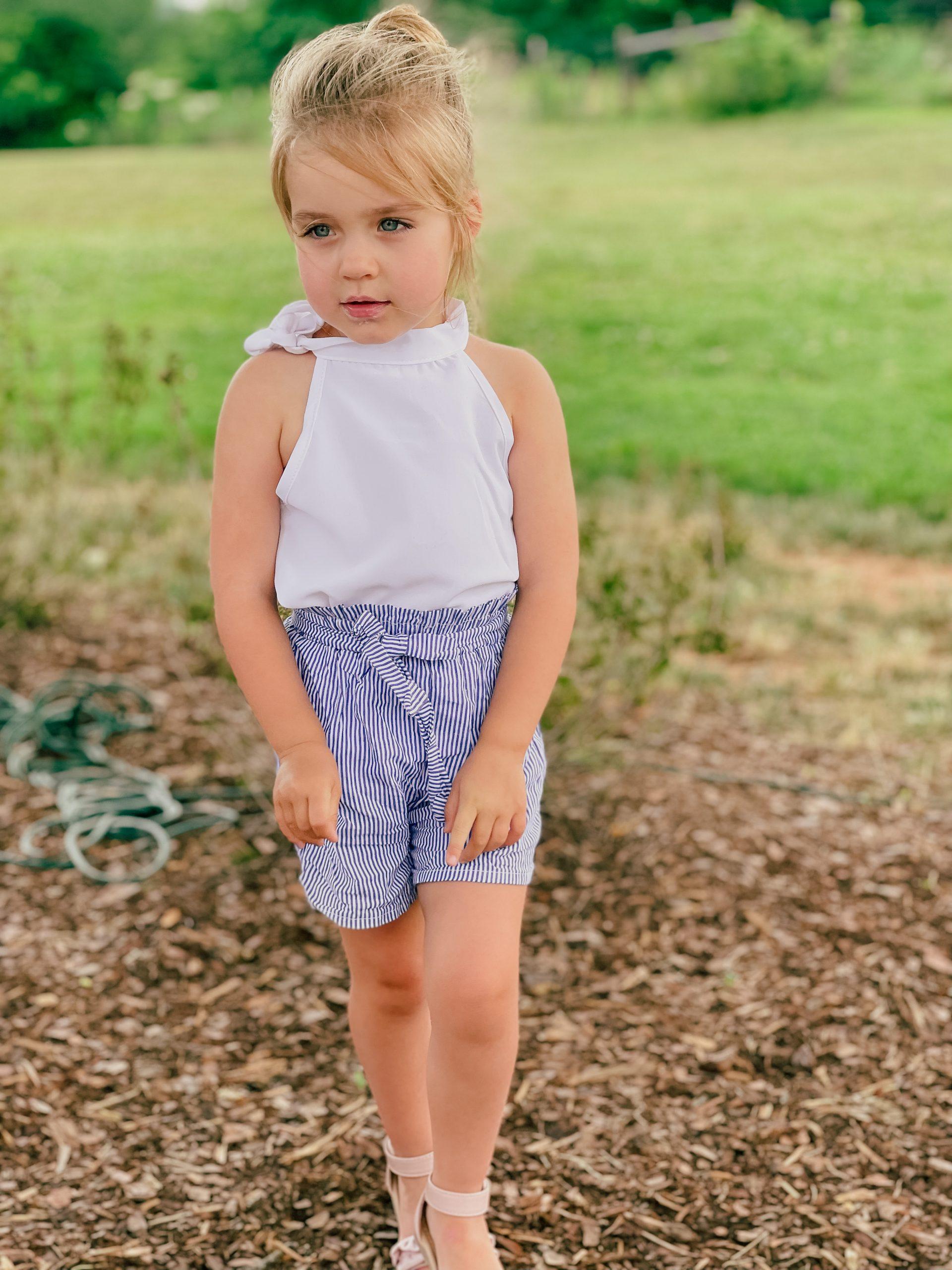 Nash Family Creamery Chapel Hill, TN MacKenlee Lanter amazon 3T outfit Angela Lanter