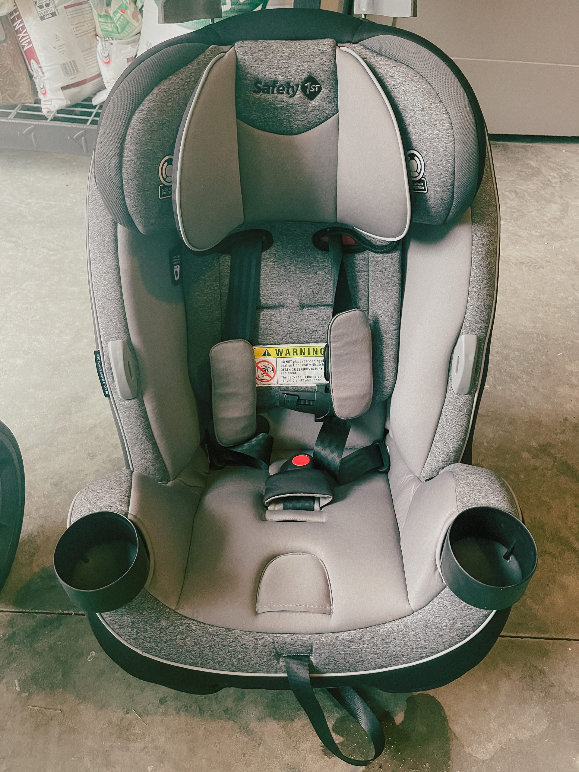 Safety 1st Jive 2-in-1 Convertible Car Seat, Harvest Moon Amazom toddler seat review Angela MacKenlee Lanter