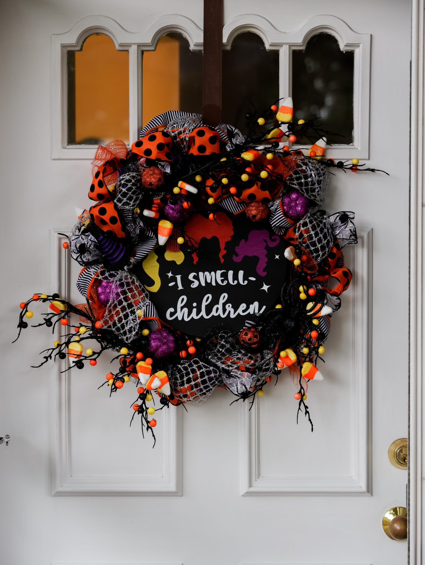 Hocus Pocus Wreath DIY for Halloween