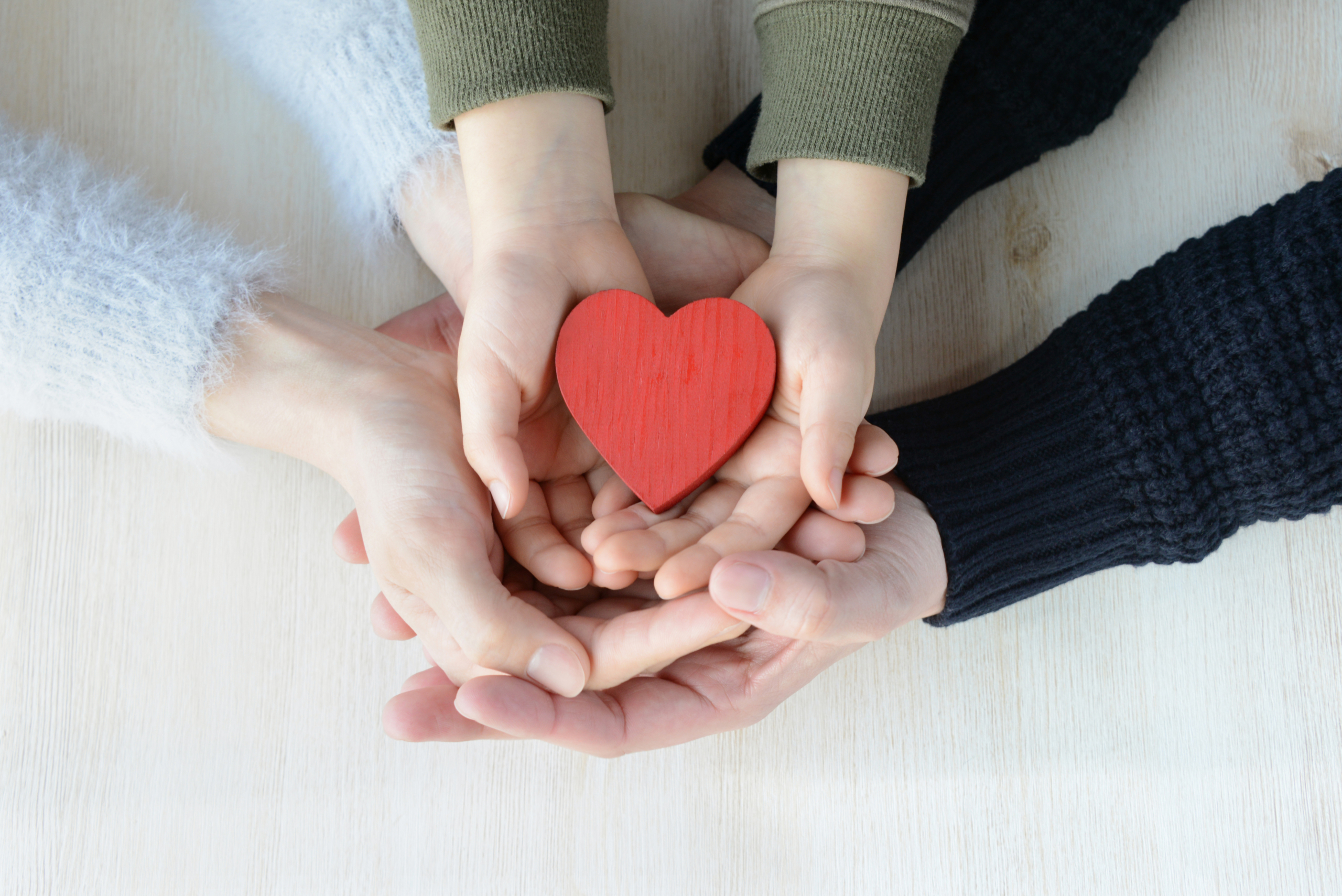 Family Hands Love