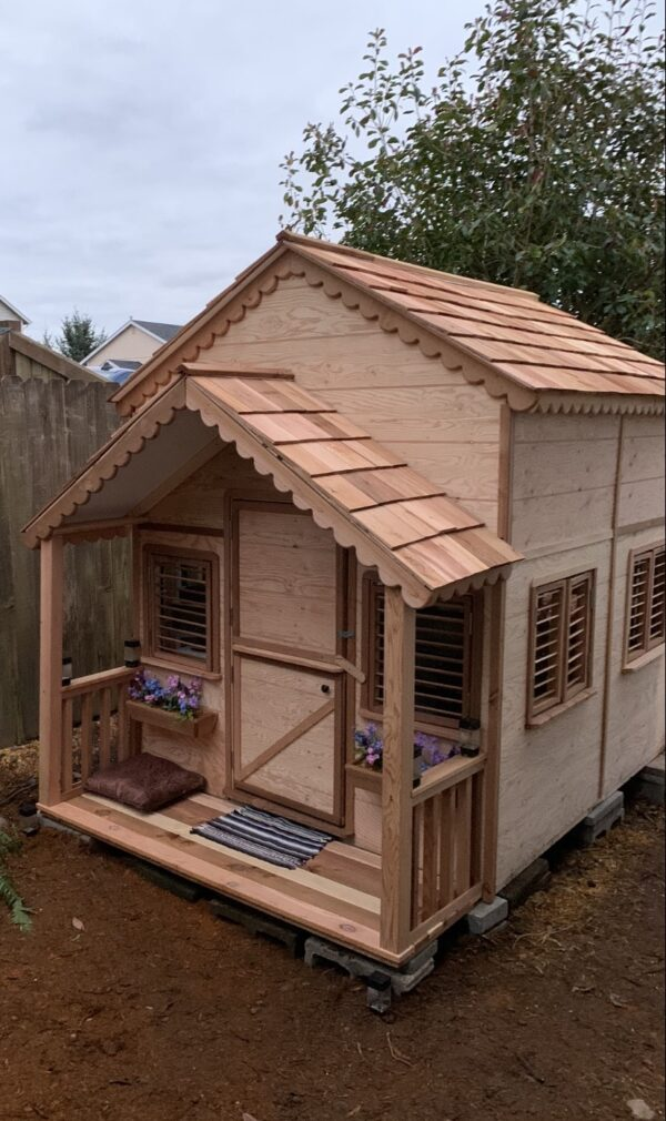 Playhouses with loft