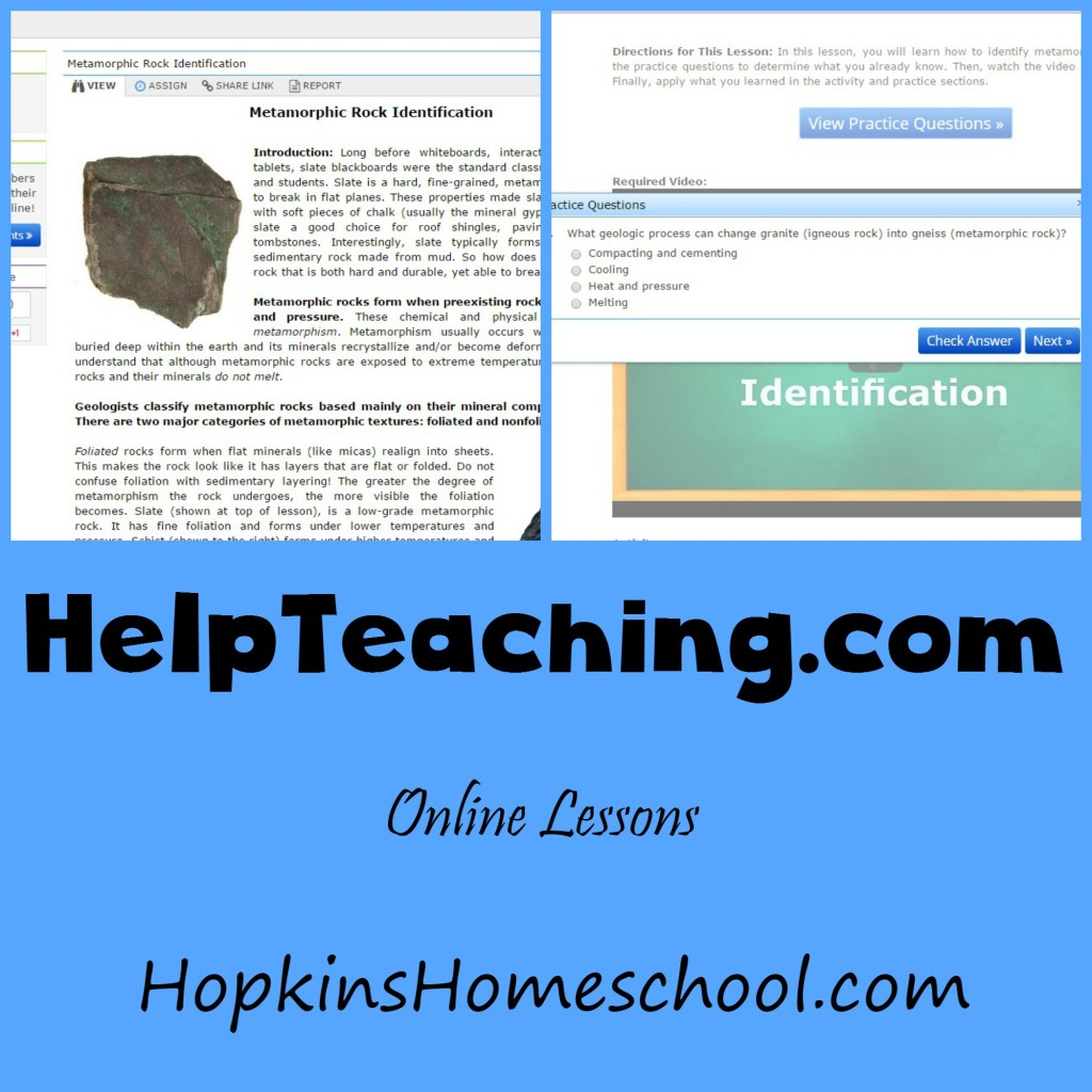 Online Lessons with HelpTeaching.com