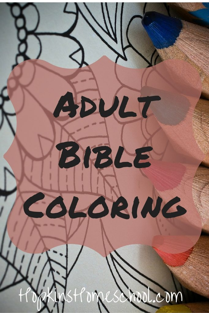 Adult Bible Coloring