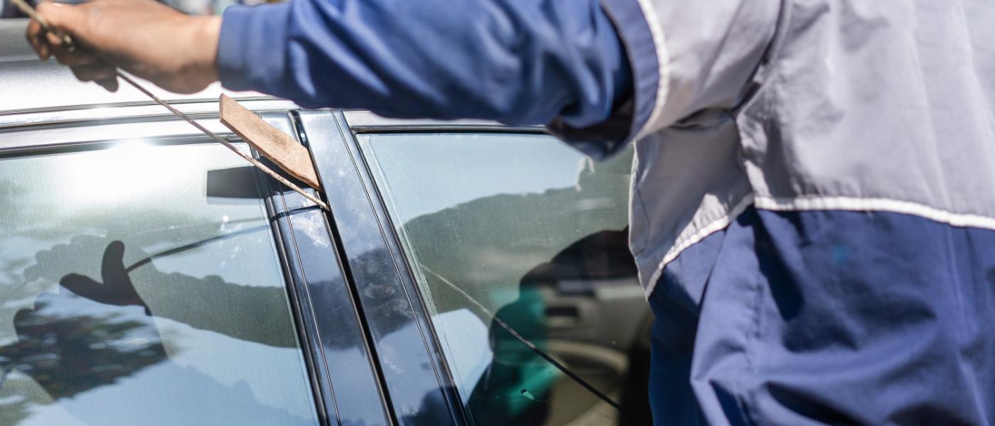 Car Unlock Service of The Lock Pro opening a car door
