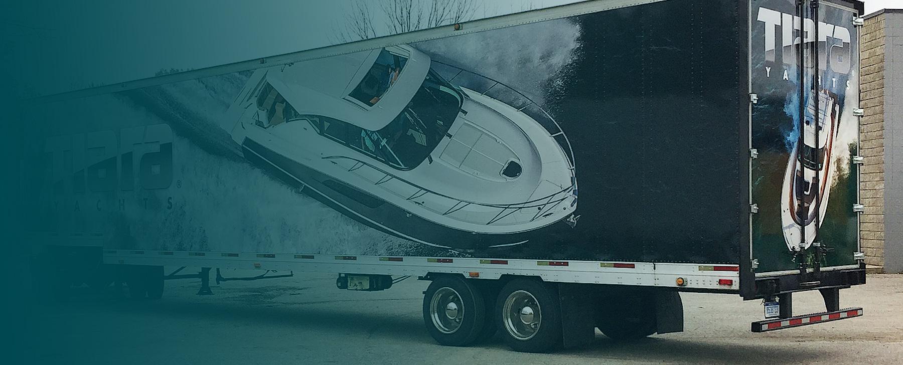 custom semi trailer wraps