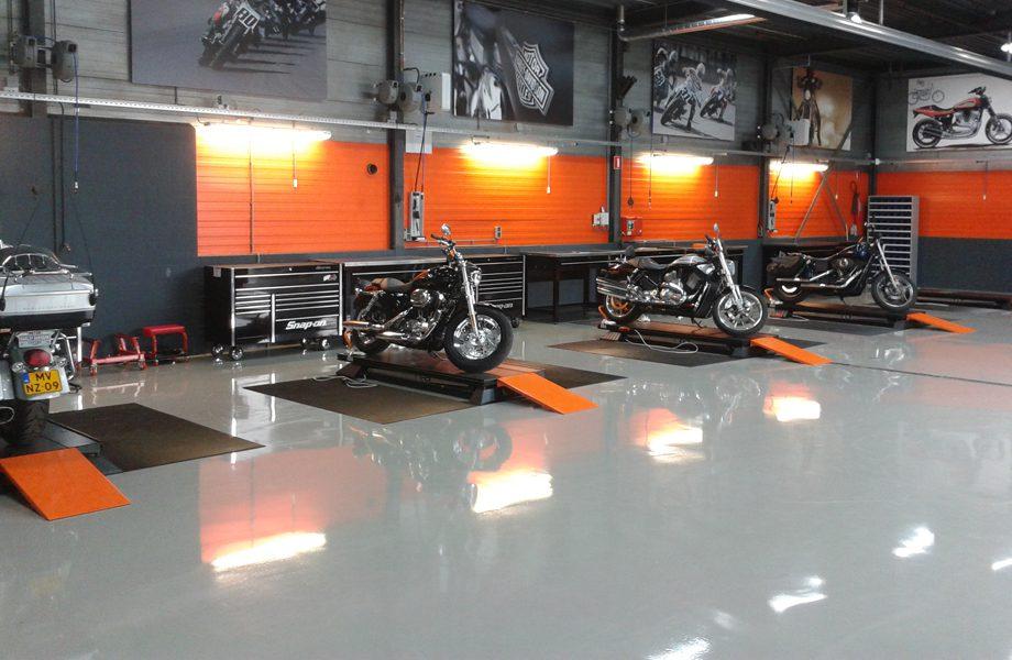 Automotive floor coatings