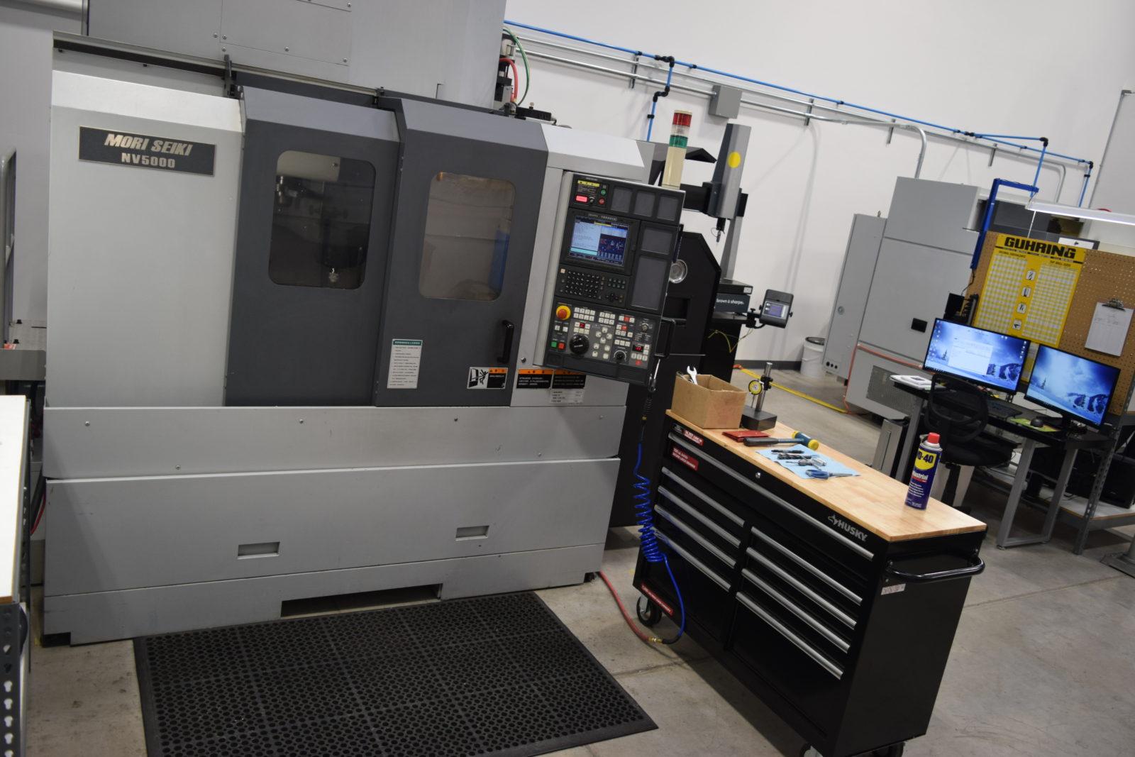 Arrow Tech Machine Works of Eugene, OR, CNC Machine Shop