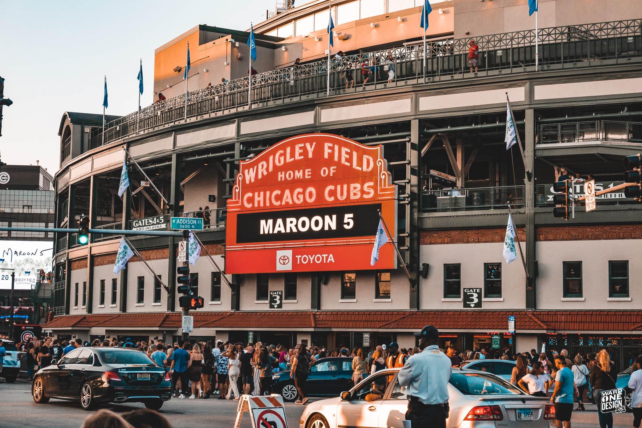 Maroon 5 Wrigley Field