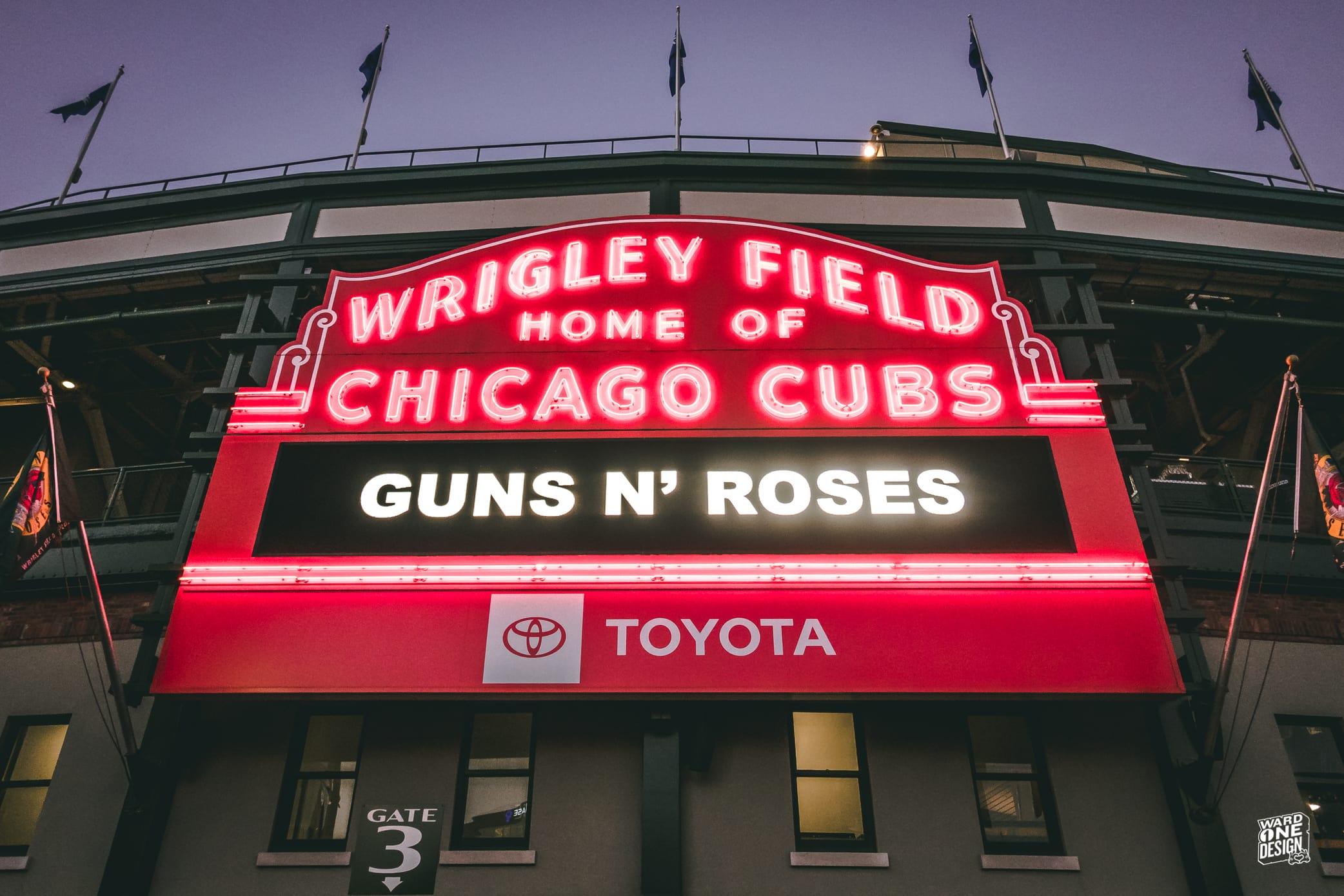 Guns n Roses - Wrigley Field