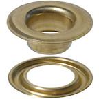 Brass Self-Piercing Grommet & Washer