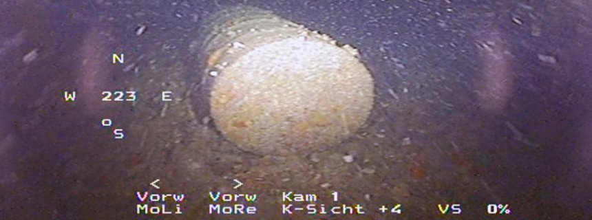 improper disposal of radioactive barrel in English channel pollution ocean water