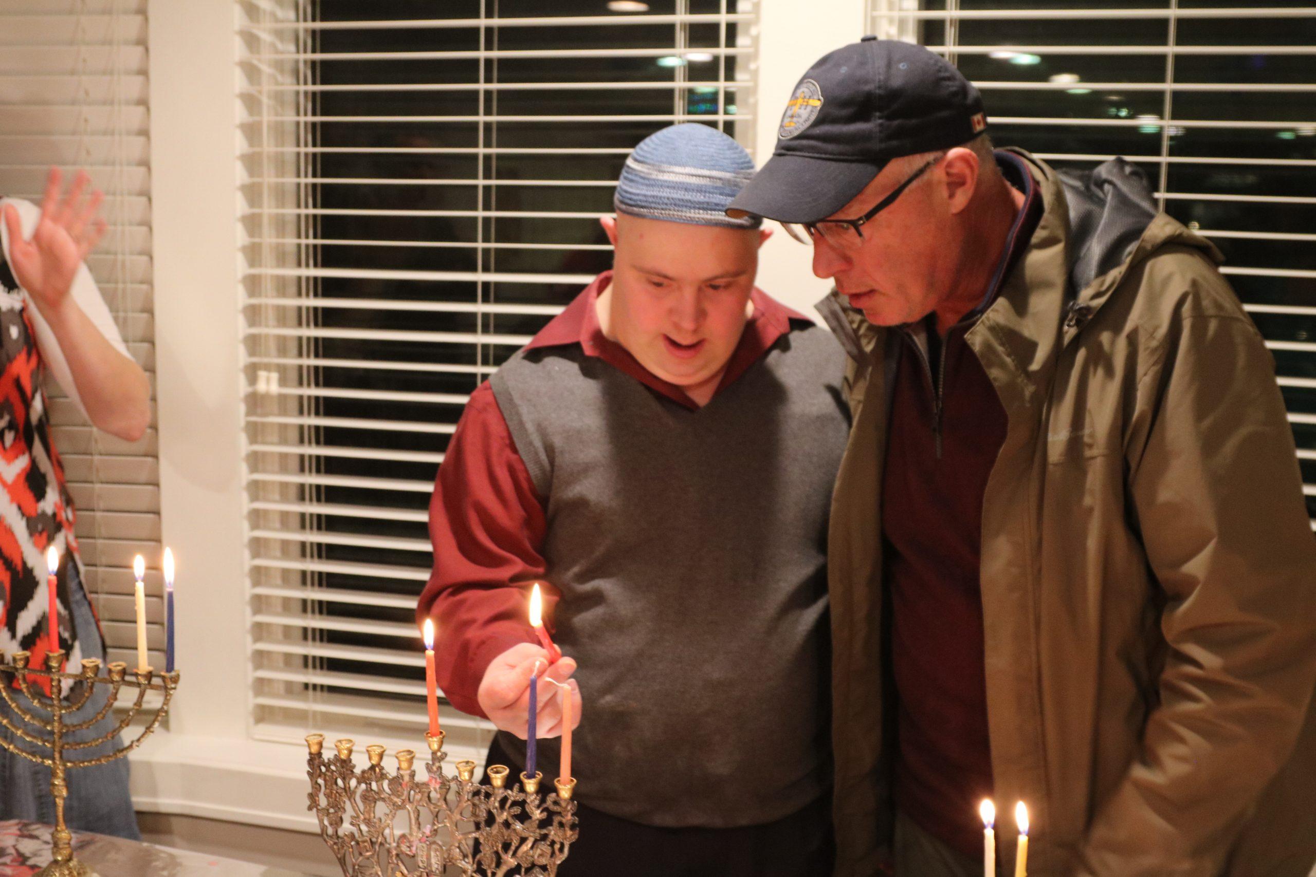 Hanukkah party 2019
