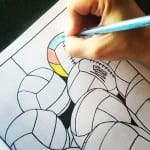 medicine balls from FUNctional fitness coloring book