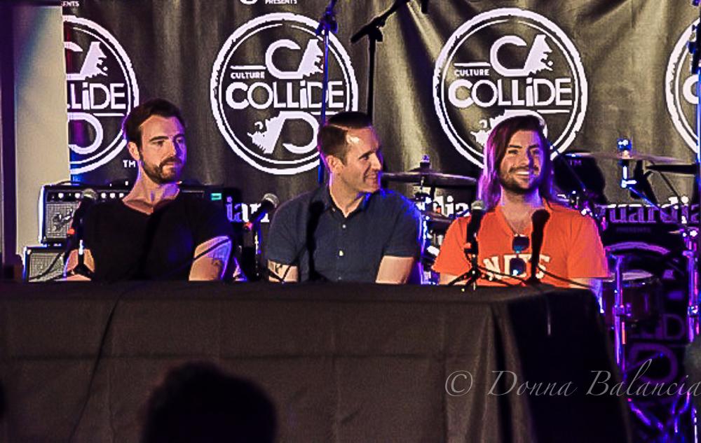 Jesse Nolan, Tim and Rooney's Rob Schwartzman - Photo © 2015 Donna Balancia
