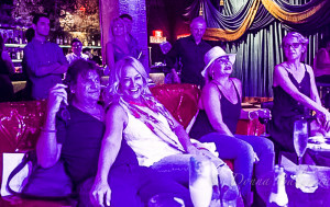 Enjoying the music: Nancy Hilton and friends at The Dave Schultz All-Star Jam - Photo © 2015 Donna Balancia