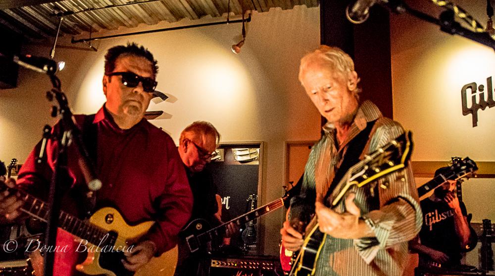 Robby Krieger Performs with Los Lobos - Photo © 2015 Donna Balancia