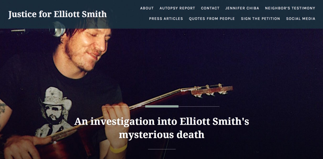 How did Elliott Smith really die and why, asks photojournalist Alyson Camus