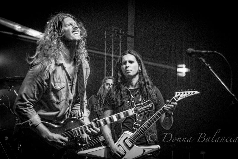 Jared James Nichols Band and Gus G team up at Blackstar Amps party at Swinghouse Studios - Photo © 2017 Donna Balancia