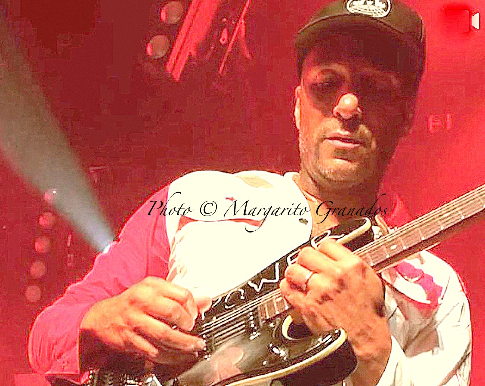 Tom Morello photo by Margarito Granados