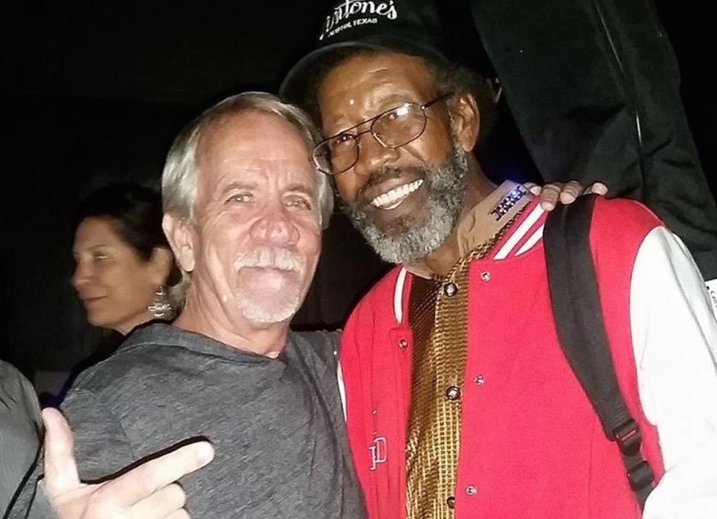 Reviewer Craig Hammons with R.L. Boyce - Photo courtesy of Craig Hammons