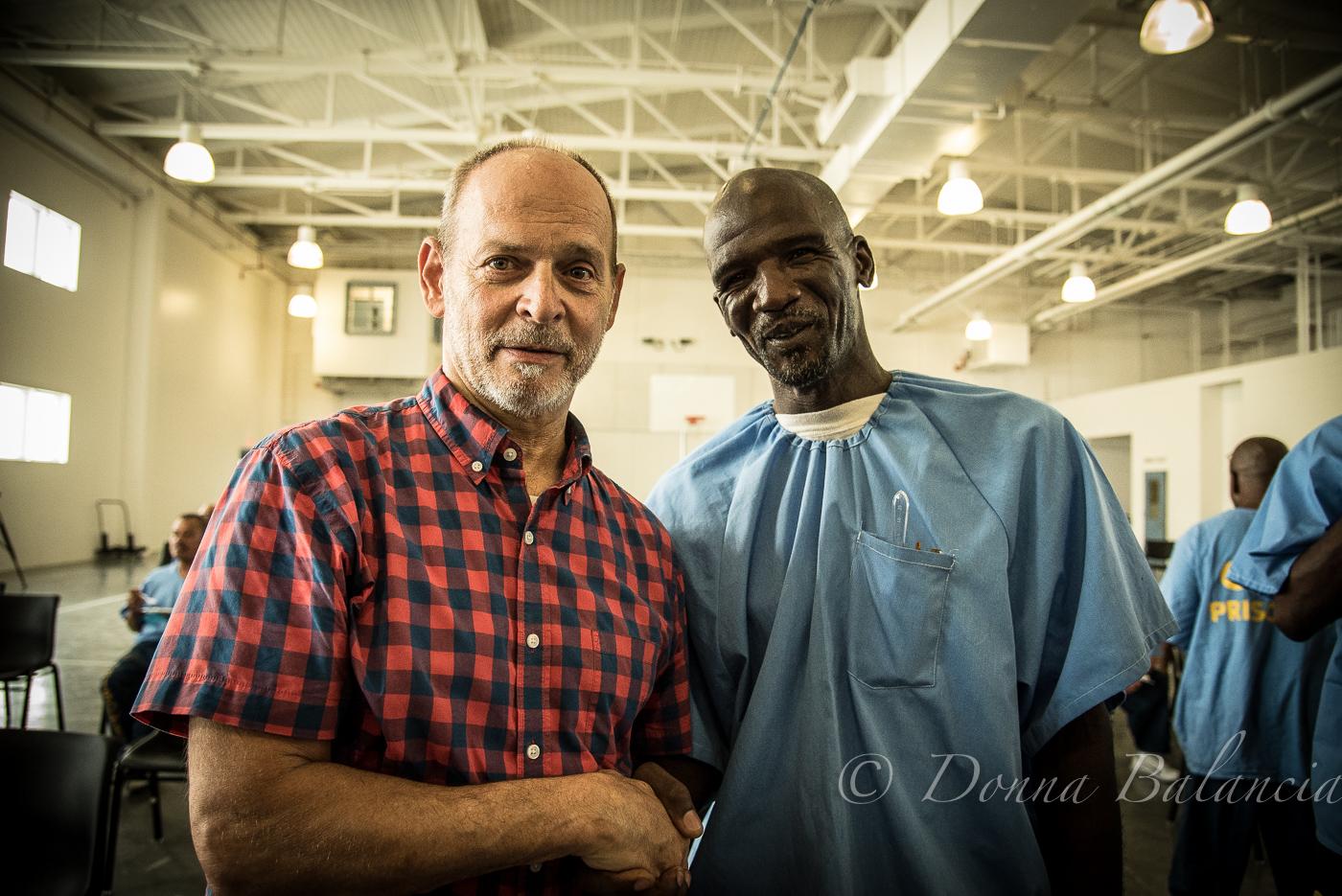 Wayne Kramer with Burrell Kelly - Photo © 2017 Donna Balancia