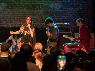 Teri Gender Bender and Le Butcherettes at The Hi Hat - Photo by Donna Balancia