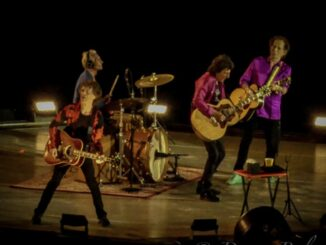 The Rolling Stones release 'Living In A Ghost Town' - Donna Balancia photo