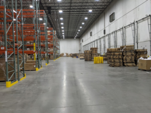 Warehouse ceiling Height