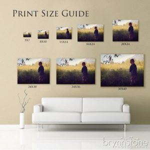 print sizing guide