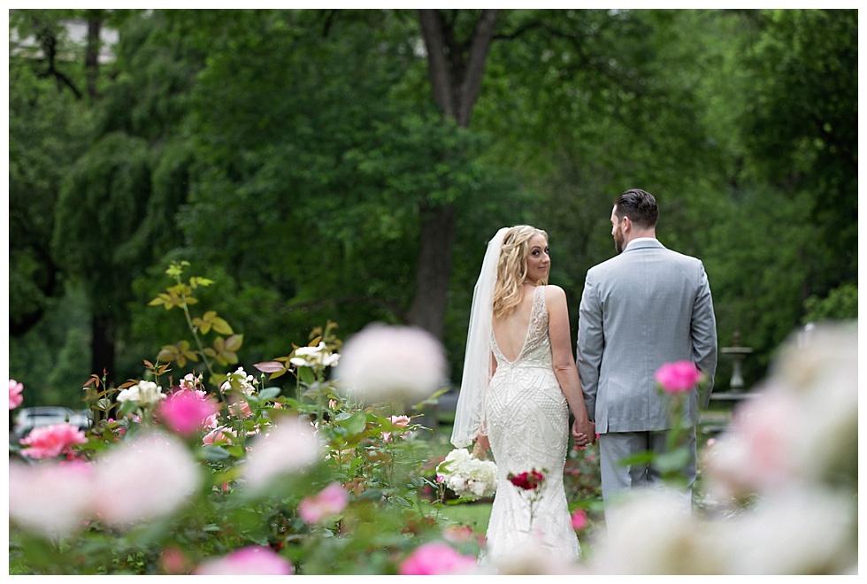 brandywine park rose garden wedding