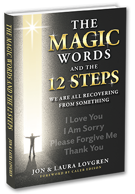 the magic words and the 12 steps book cover