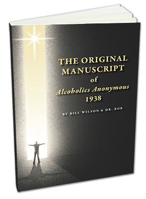 the magic words and the 12 steps aa manuscript cover