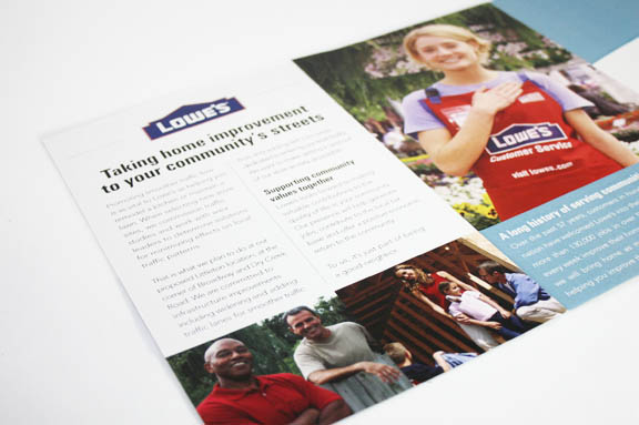 Community Relations Direct Mail Inside