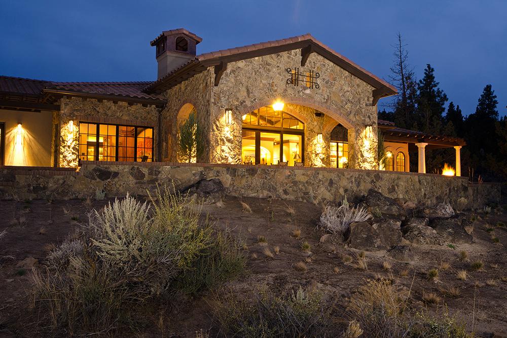 Awbrey Butte Tuscan Home