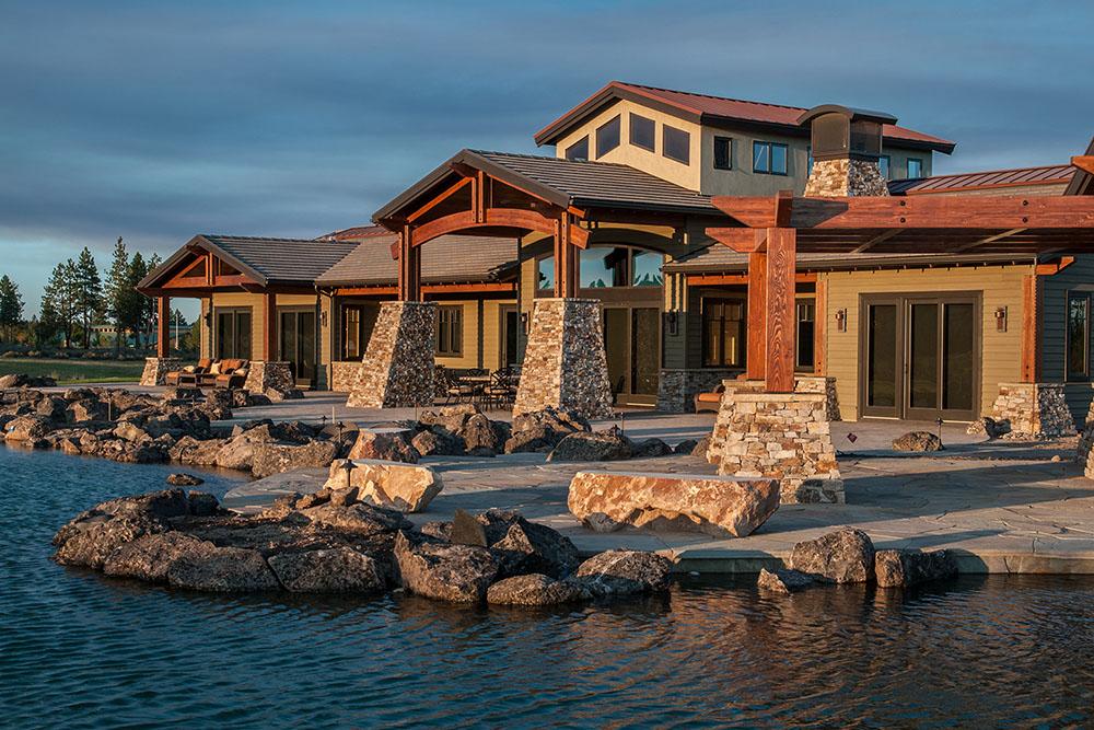Highlands Lodgestyle Home and Landscape