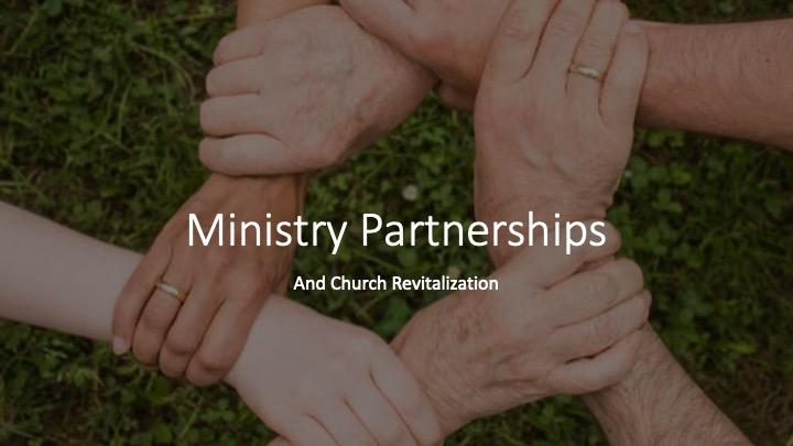 Ministry Partnerships