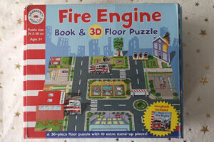 Emergency Vehicles: Fire Engine Puzzle