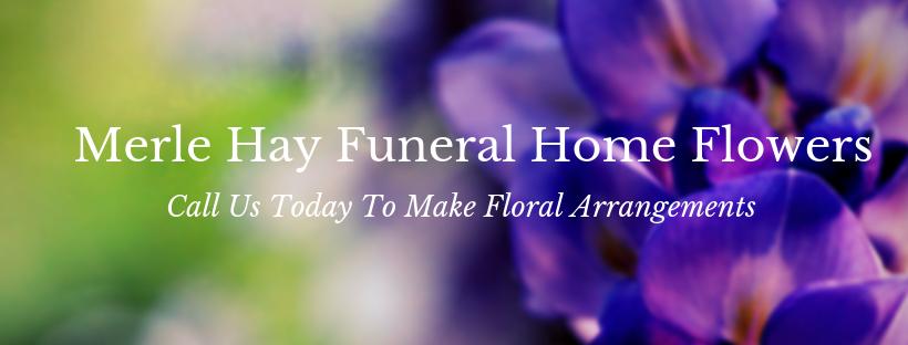 Merle Hay funeral home flowers