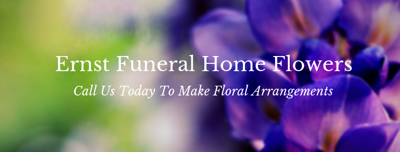 ernst funeral home flowers of waukee