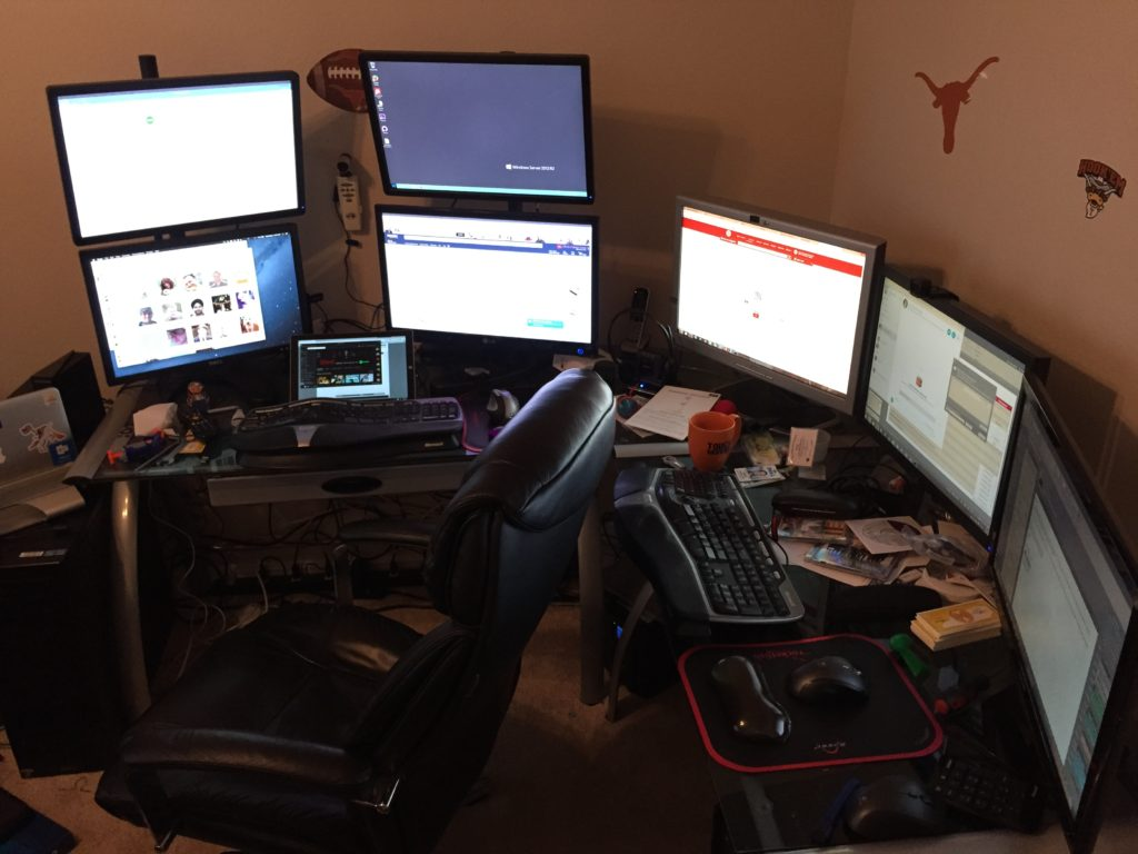 My old home office