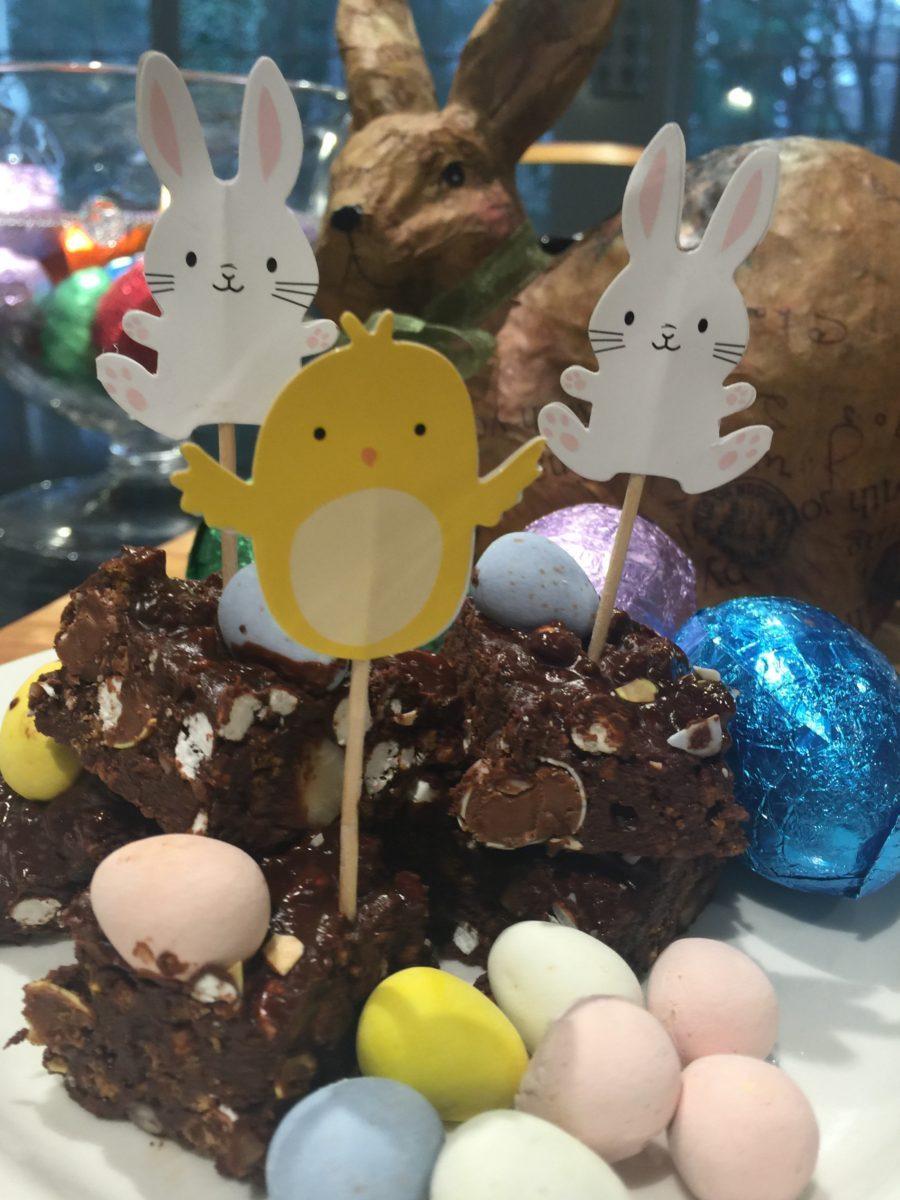 Easter Egg Rocky Road
