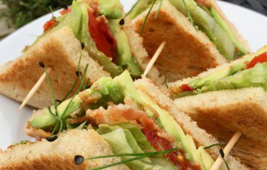 Bacon, Lettuce, Avocado and Tomato Sandwich (BLAT)