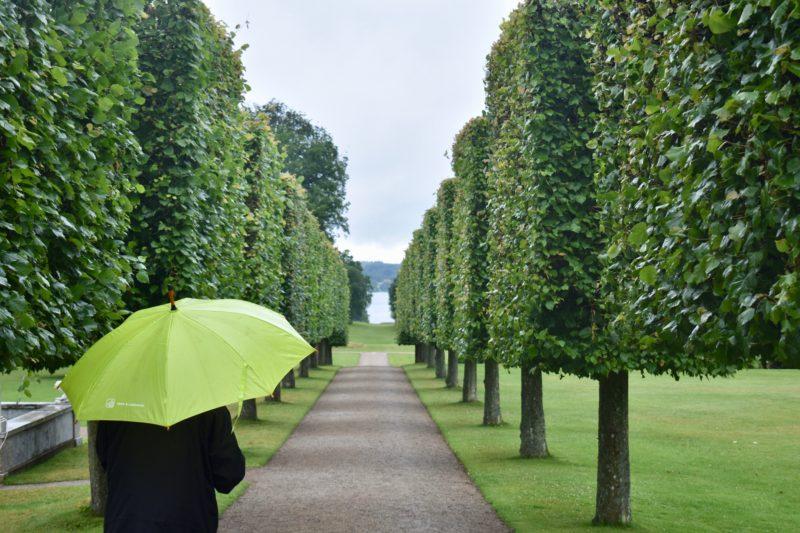 Rainy day at Fredensborg